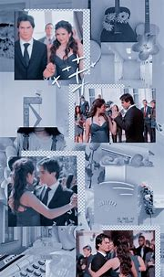 🖤ཻུꦿ Lockscreen / Wallpaper Damon Salvatore e Elena ...