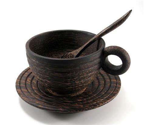 wood tea cup ebay