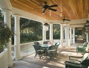 Great Porches by Big Wide Porch With A Great Ceiling Dream House Ideas