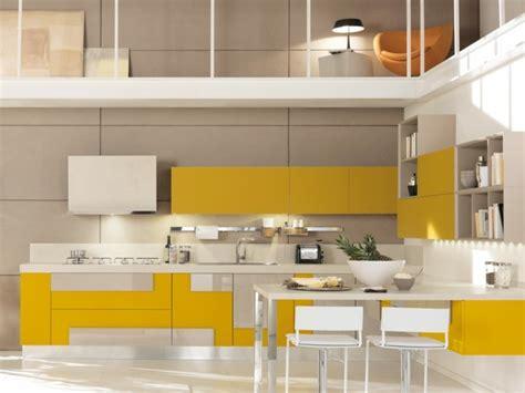 cuisine jaune 115 exemples de cuisines équipées et ultra modernes partie 1