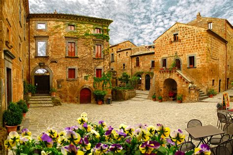 Civita Di Bagnoregio Is A Town In The Province Of Viterbo