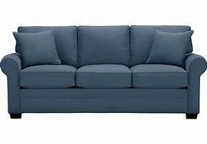 Cindy Crawford Home Bellingham Indigo Sofa - Sofas (Blue)