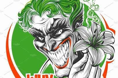 Joker Vector Batman Illustrations Graphics Daver2002ua Creativemarket