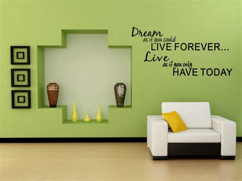 Home Decor Words : Wall Decal Quote Wall Lettering Art Words Wall Sticker