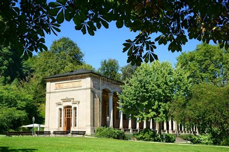 The Spa Complex In Germany by The Trinkhalle In Baden Baden Editorial Image Image Of