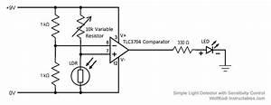 Light Sensor Circuit Page 4   Sensors Detectors Circuits    Next Gr