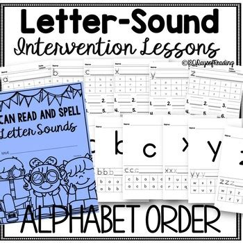 letter sound interventions   days  reading tpt