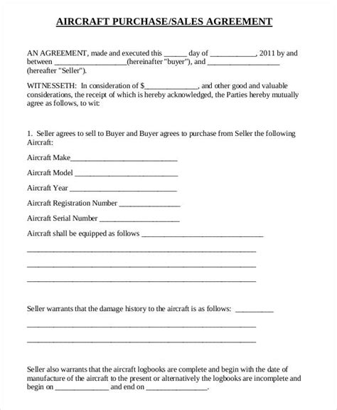 purchase and sale agreement form 32 sales agreement form template