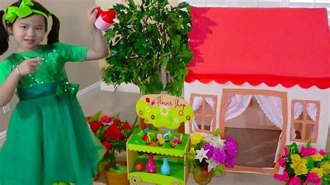 Jannie Pretend Play W Tent Playhouse Girls Toy For Kids