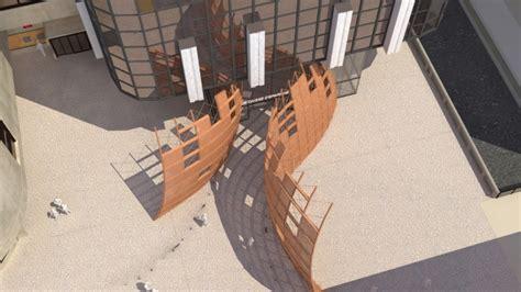 siege caisse d epargne rhone alpes sculpture monumentale parvis tour siège caisse d 39 epargne à