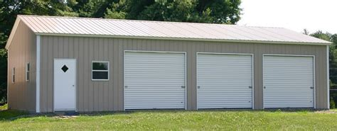 Metal Garages Prices by Alan S Factory Outlet Has Sturdy Steel Buildings Illinois