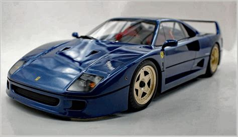 Thesupercardriver takes a ferrari f40 out for a sunset drive in the scottish highlands. Top Marques 1:12 Scale | MAR Online