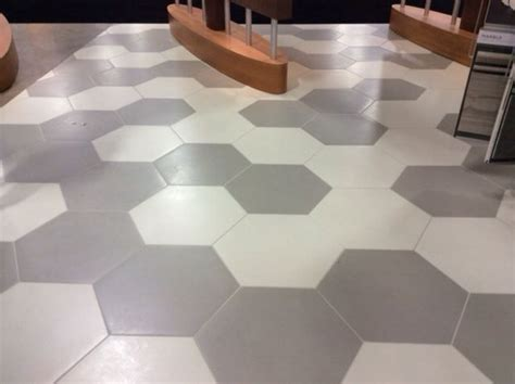 daltile bee hive series  large hexagon tile