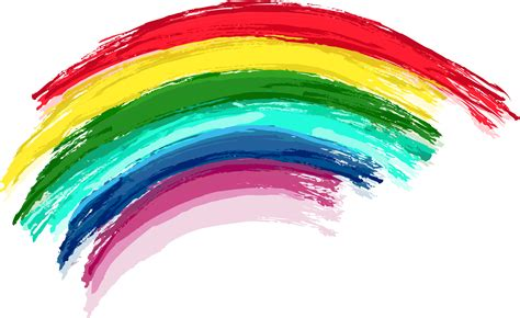 rainbow color rainbow png images 7 colors of the sky png only