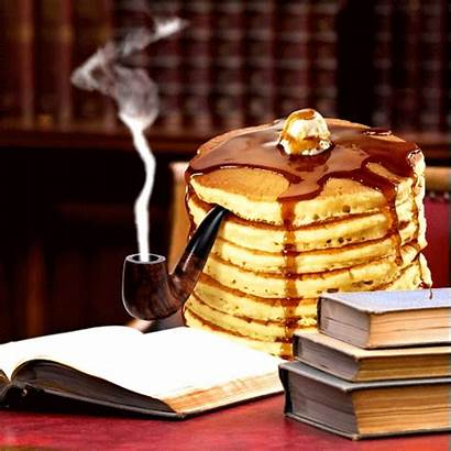 Gifs Pancakes Stack Sophisticated Justin Smoke Syrup