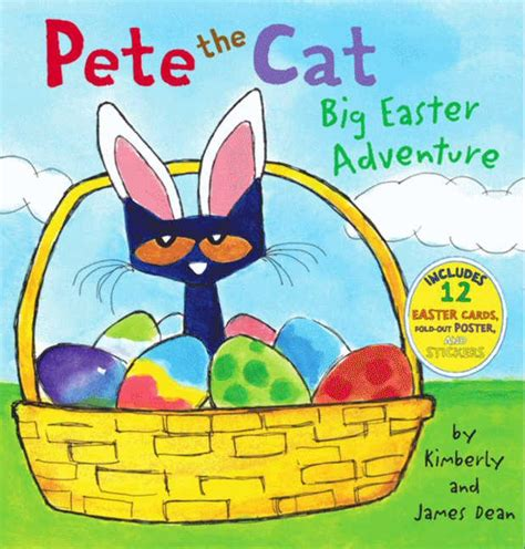pete the cat author pete the cat big easter adventure by dean