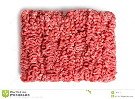 Raw Minced Meat Royalty-free Stock Photography