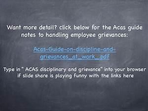 Handling An Employee Grievance