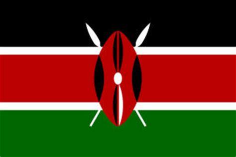 kenya flag printables  kids