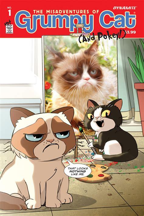 grumpy cat comic book