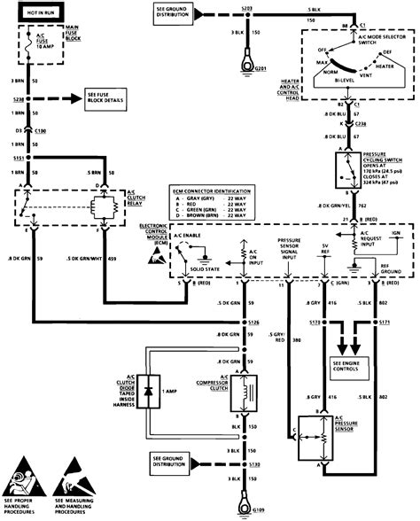 92 Chevy Wiring Diagram by I A 1992 Corvette Lt1 And The A C Compressor Is Not