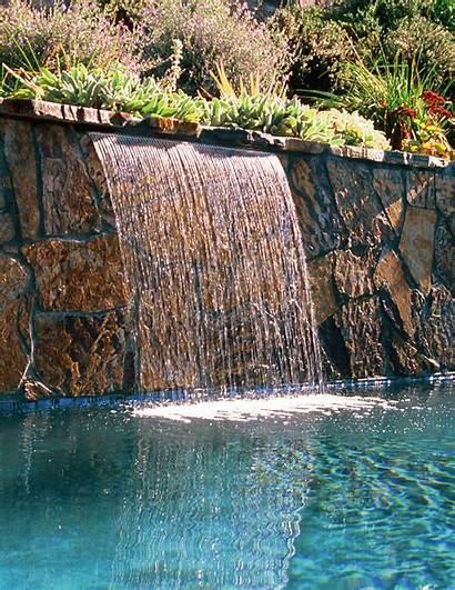 Sheer Rain Jandy Water Descent Waterfall Features