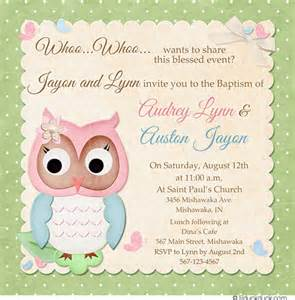 Baby Shower Invitations Twins Picture