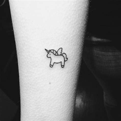 awesome tiny tattoo idea small tiny tattoo unicorn