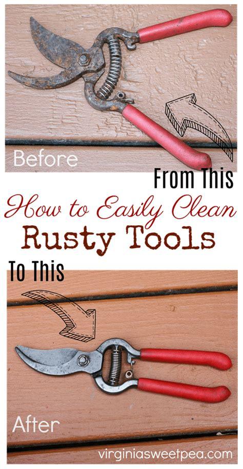 tools easily rust remove rusty clean virginiasweetpea cleaning sweet hacks easy weekend learn pea lake deep fantastic ibotta tool gloe