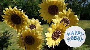 Basteln Aus Papier : sonnenblume basteln aus papier k rnern und zweig sommer diy youtube ~ A.2002-acura-tl-radio.info Haus und Dekorationen
