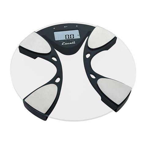 escali digital glass body fat  water bathroom scale