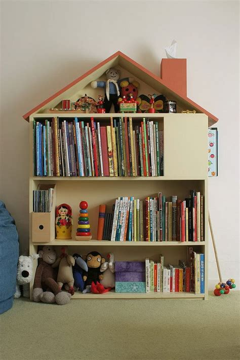 creative book storage ideas  kids hative