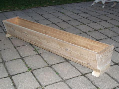 48 quot cedar wood flower box patio planter box deck garden