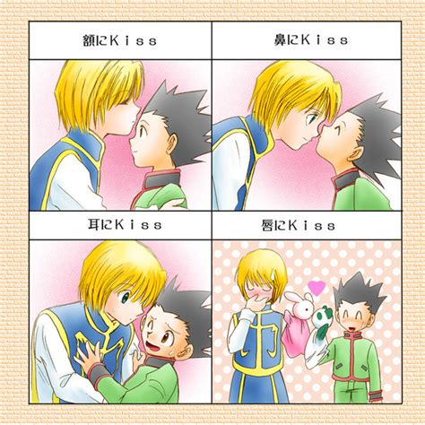 anime kiss hunter x hunter hunter x hunter 871495 zerochan