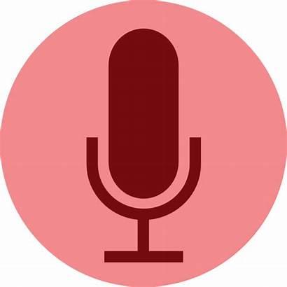 Microphone Button Record Clip Voice Clipart Hija