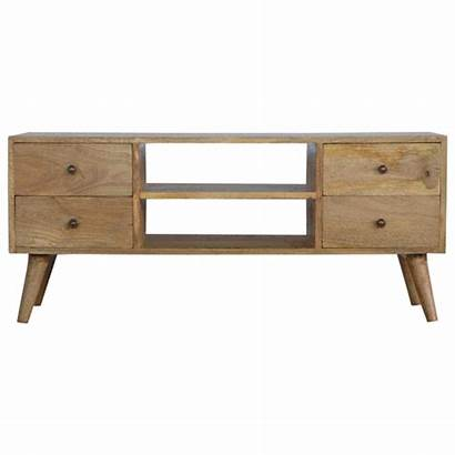 Nordic Drawers Wood Unit Stand Solid Scandinavian