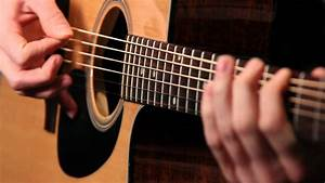 Acoustic Guitar Player - Free HD Stock Video Footage - YouTube