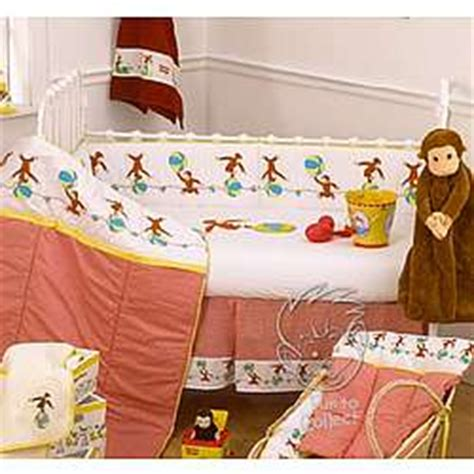 curious george 6 crib set findgift