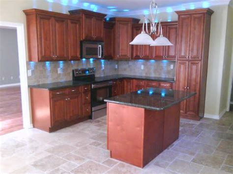 what finish for kitchen cabinets cherry kitchen cabinets home design traditional 8936