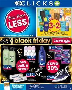 clicks black friday specials deals 2020 great savings