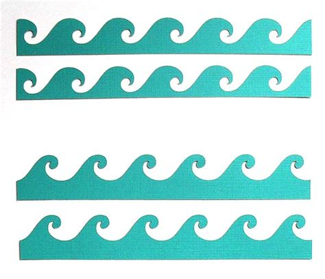 wave template best photos of waves printable paper cut out waves printable waves stencil and