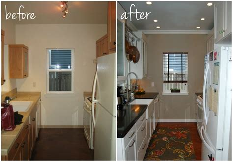 Small Kitchen Makeover Ideas by Small Kitchen Ideas Before After Remodel Pictures Of