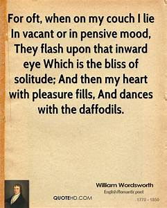 William Wordswo... Vacant Heart Quotes