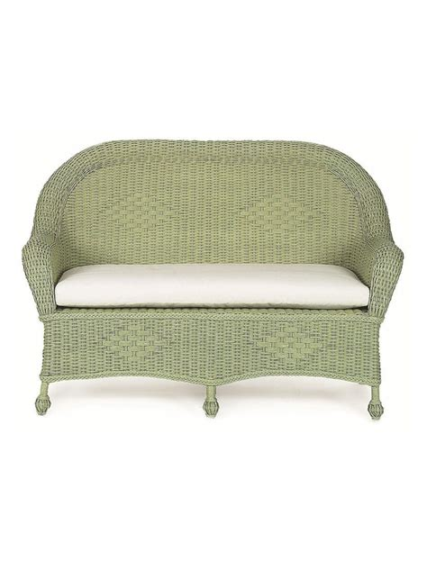 Cottage Settee by Outer Banks Wicker Settee Cottage Home 174