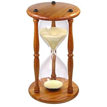 large hourglass sand timer hourglass sand timer clocks large wood decorative desk top 6790