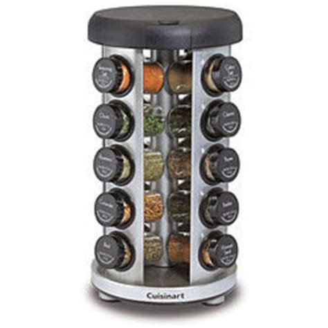 Spice Rack Reviews by Cuisinart 20 Jar Revolving Spice Rack Reviews Viewpoints