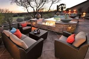 salon de jardin en resine avantages et photos inspirantes With amazing decoration d un petit jardin 16 deco cocooning dans la maison