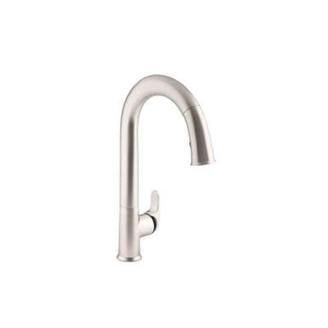 home depot kitchen faucets touchless kohler sensate ac powered touchless kitchen faucet in
