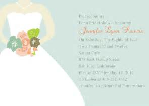 wedding shower chic mint green wedding dress bridal shower invitations ewbs033 as low as 0 94