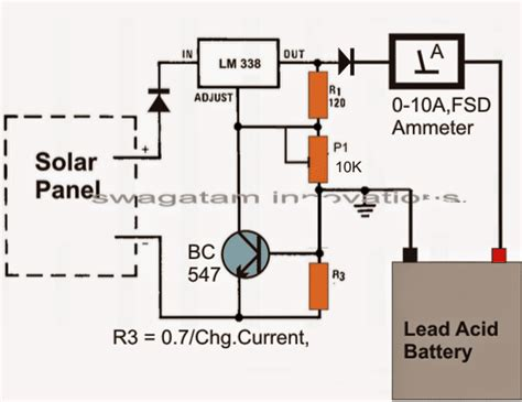 Simple Solar Battery Charger Circuits Homemade Circuit